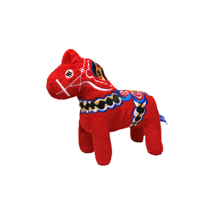 Red Dala Horse Plush