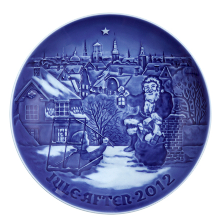 2012 Annual Christmas Plate