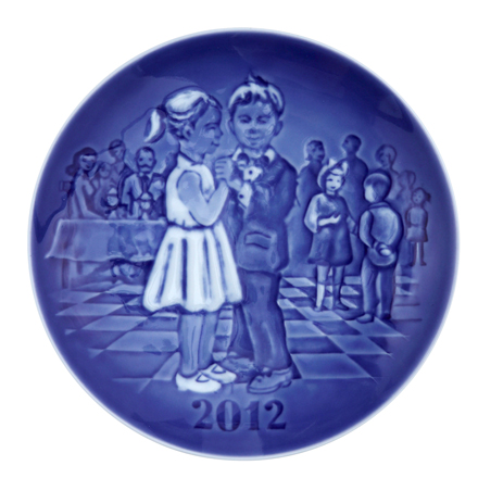 2012 Annual Children's Day Plate
