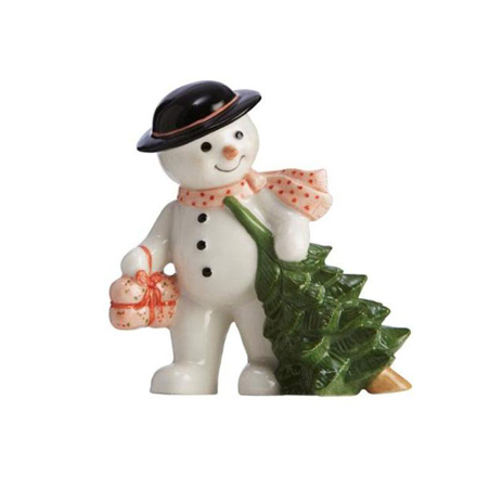 2010 Annual Snowman Figurine - Father Max