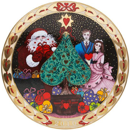 2010 Annual 'Hearts of Christmas' Plate