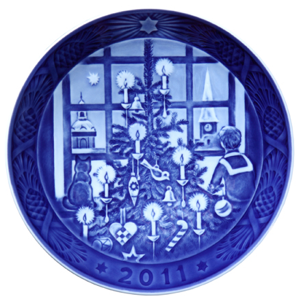 2011 Annual Christmas Plate