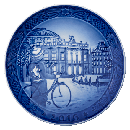 2016 Annual Christmas Plate