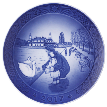 2017 Annual Christmas Plate
