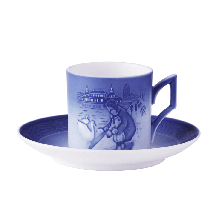 2017 Annual Christmas Cup & Saucer